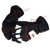 Толстая теплая хлопковая холодная зима перчаток наружные ветронепроницаемые перчатки