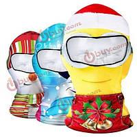 Лыжная маска балаклава Новогодняя CS