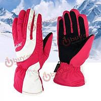 Лыжные перчатки зимние ветрозащитные водонепроницаемые