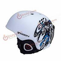 Шлем открытый белый Moon MTV18 58-61 см
