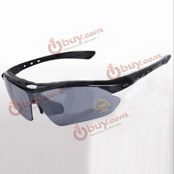 Велоспорт велосипед езда поляризованные солнцезащитные очки с 5 красочные объектив