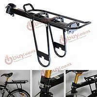 Велосипед Велоспорт быстрый релиз задний багажник багаж подседельный кринолин несущей