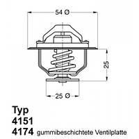 Термостат 4174.79D Wahler
