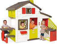 Детский домик с кухней Smoby 810201