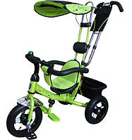Велосипед на надувных колесах Mini Trike зеленый