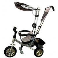 Детский трехколесный велосипед Mini Trike серебро LT950