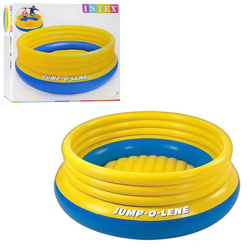 Батут детский круглый надувной Intex 48267