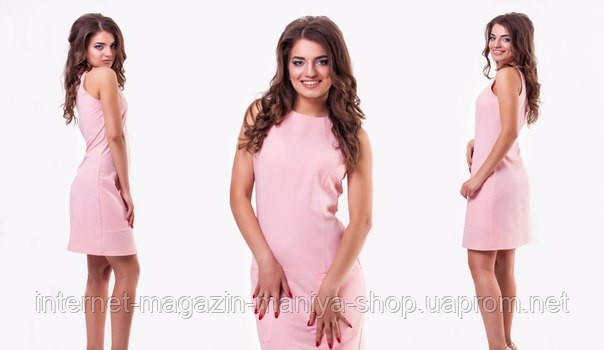 Платье женское цвета