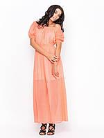 Красивое модное летнее шифоновое платье в пол р.44-46, р.48-50, р.52-54