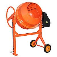 Бетономешалка Кентавр БМ-200СП (200л) оранжевая