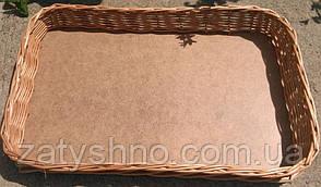 Лотки плетеные для сухофруктов прямоугольные