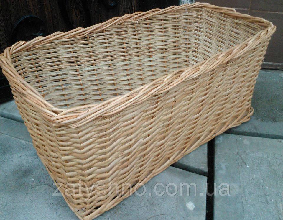 Ящик плетеный для хранения овощей и фруктов