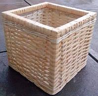 Ящик плетеный высокий вместительный, фото 1