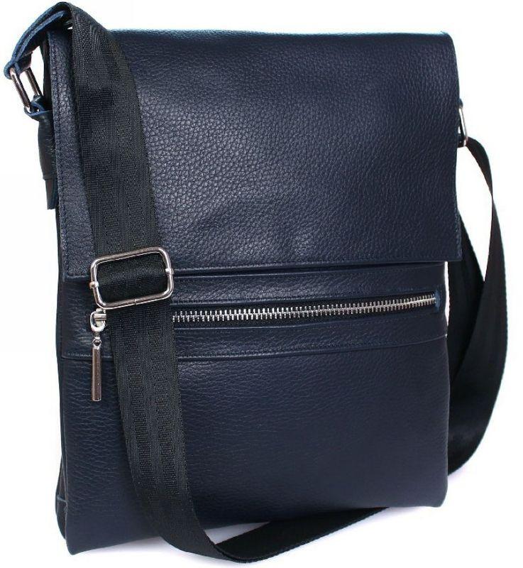 7175911b4526 Мужская кожаная сумка с клапаном Alvi av-99blue - SUPERSUMKA интернет  магазин в Киеве