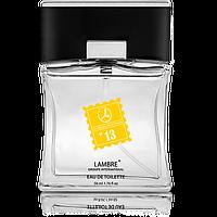 Туалетная вода Lambre №13, Invictus– Paco Rabanne, 50мл
