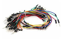 Набор проводов для макетных плат,  65шт.