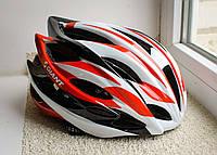 Шлем велосипедный GIANT 2016 бело-красный , фото 1