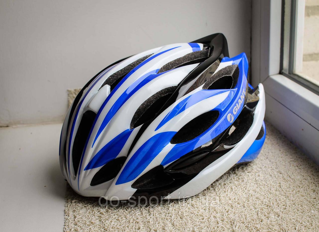 Шлем велосипедный GIANT 2016 Синий, фото 1