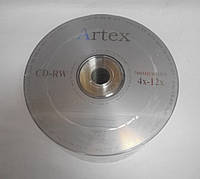 Artex CD-RW 700 MB 12x, Bulk/50, серебристый (CMC Magnetics)