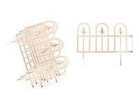 Декоративный забор Суматра (190 cм) слоновая кость