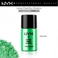 Рассыпчатые тени-пигменты NYX LOOSE PEARL EYE SHADOW Jade Pearl