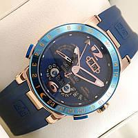 Мужские механические наручные часы Ulysse Nardin El Toro на каучуковом ремешке, фото 1