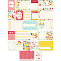 Набор карточек Project Life Girl 60 шт (718813802239)