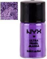 Рассыпчатые тени-пигменты NYX LOOSE PEARL EYE SHADOW True Purple Pearl