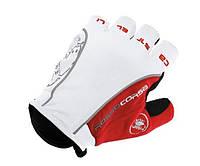 Велоперчатки Castelli Белые