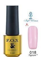 Fox Gel Polish Фокс гель лак 6 мл №018
