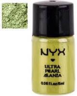 Рассыпчатые тени-пигменты NYX LOOSE PEARL EYE SHADOW   Lime Citron Vert, фото 1