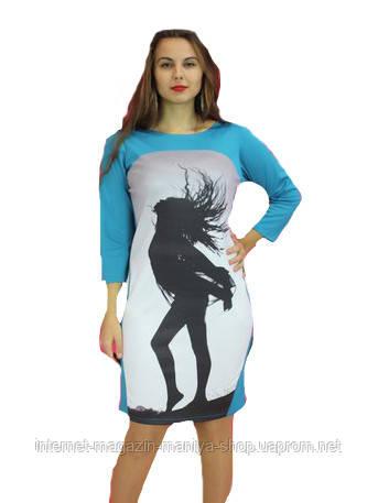 Платье женское рисунок полубатал