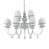 Люстра Ideal Lux BLANCHE SP12 BIANCO