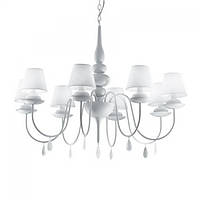 Люстра Ideal Lux BLANCHE SP8 BIANCO, фото 1