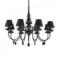 Люстра Ideal Lux BLANCHE SP8 NERO, фото 1