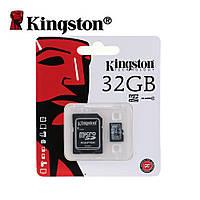 Карта памяти Kingston Digital microSD 32Gb Class 10 with SD Adapter