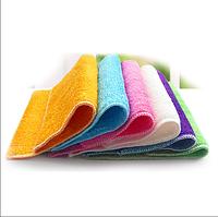 Бамбуковая салфетка для мытья посуды без моющих средств высший сорт 18x17см