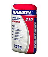 KREISEL 210  Клей для плит из пенополистирола (зима), 25 кг.