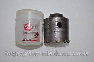 Сверло по бетону 65мм InterTool SD-0421