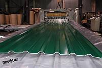 Некондиция профнастила НС-20 зеленый 6005
