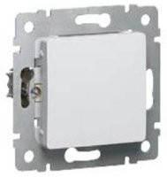Выключатель Cariva 10A, белый