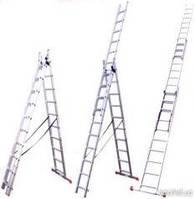 Лестница универсальная выдвижная 3х8