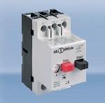 Автомат выключатели защиты двигателя 3-х фазный, уставка 0,63-0,16А, отключающая способность 6 kA цена купить