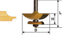 Фреза фигирейная горизонтальная двусторонняя ф79.4, хв.12мм, фото 1