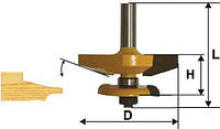 Фреза фигирейная горизонтальная  двухсторонняя ф79.4, хв12мм (арт.9332)