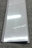 Отливы серые RAL 7004 100 мм