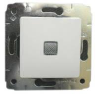 Переключатель с подсветкой, Cariva 10A, белый