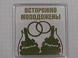 Акрилові магніти квадратні (57*57 мм), фото 3