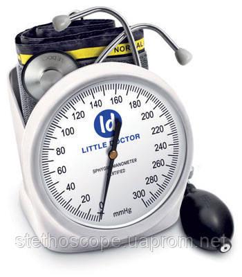 Механический тонометр LD-100 профессиональный манжета увеличенного размера 25-36 см.