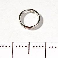 [7 мм] Кольцо заводное пружина упаковка 0,5 кг